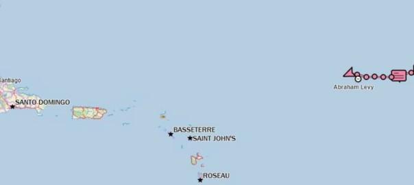 Mapa 19 enero